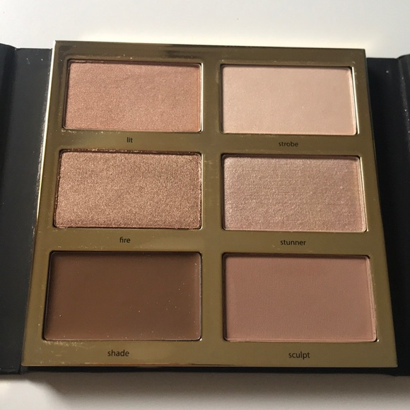 New Tarte Pro Glow Highlight Contour Palette Nwt
